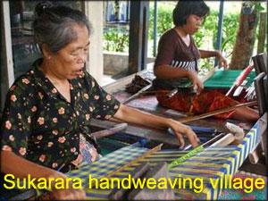 Sukarara-handweaving-village