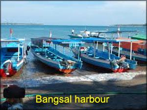 Bangsal-harbour